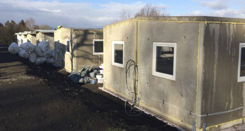 German Reinvents Pre Fab Concrete Shelters House Migrants Wtop