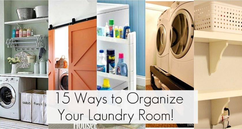 Get Organized Laundry Room Organization Ideas