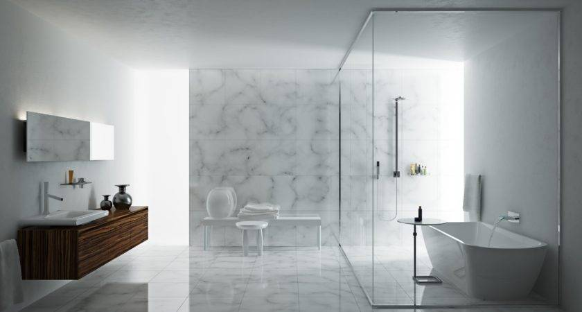 Glass Divider Shower Heads Planning Room
