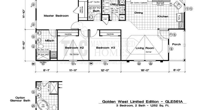 Golden West Homes Floor Plans