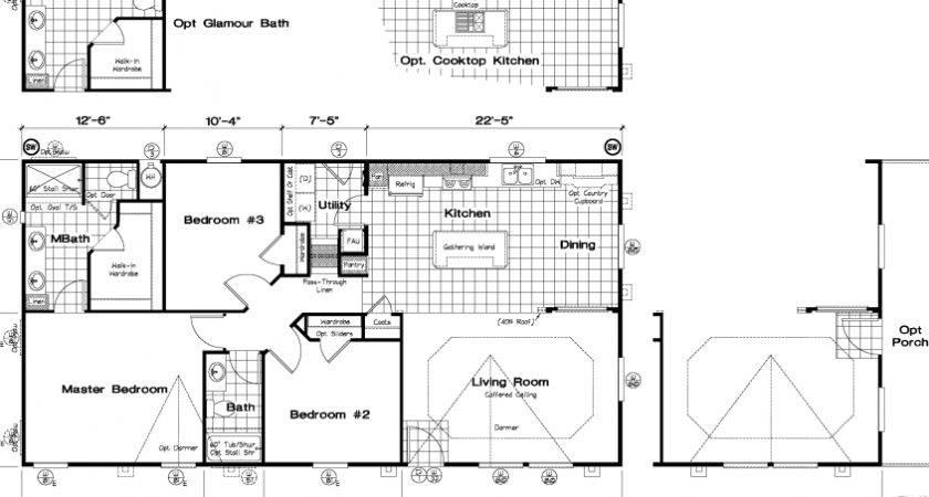 Golden West Limited Edition Floor Plans Starhomes