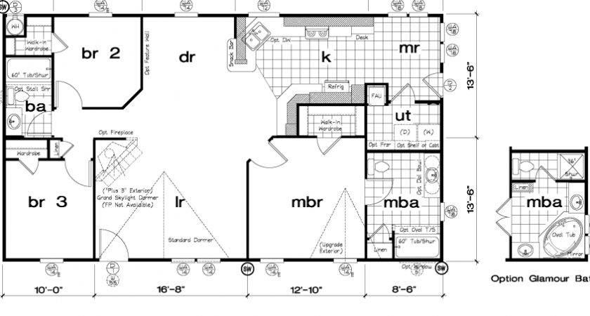 Golden West Oak Floor Plans Starhomes