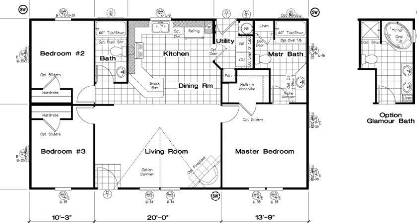 Golden West Series Floor Plans Starhomes
