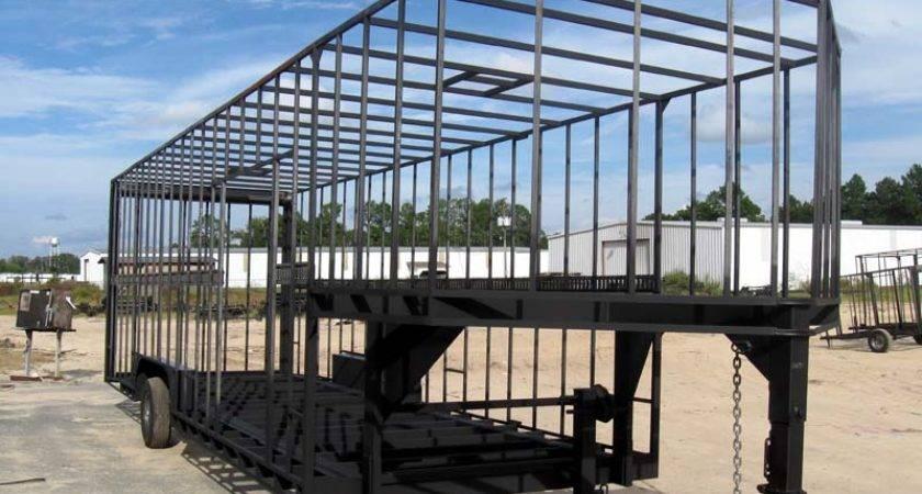 Gooseneck Construction Trailers Flatdecks Pintle