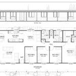 Gordon Met Kit Homes Bedroom Steel Frame Home Floor Plan