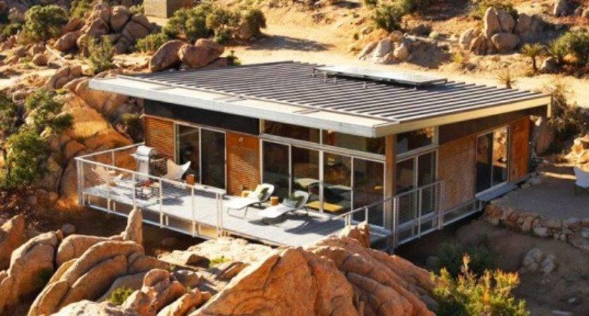 Gorgeous Eco Friendly Homes Designed Desert