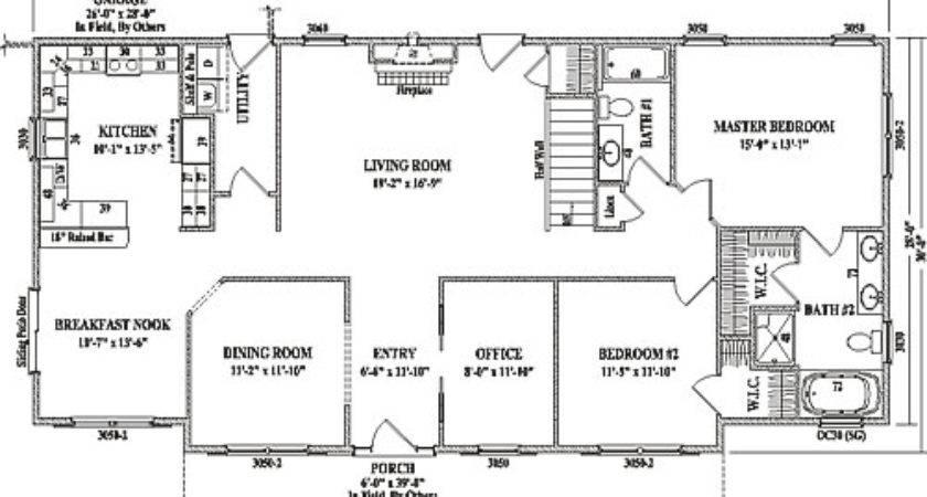 Grandview Wardcraft Homes Ranch Floorplan