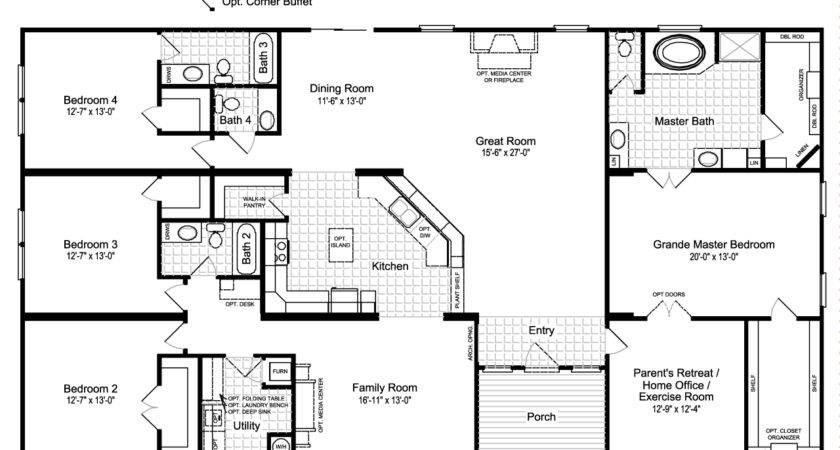 Hacienda Iii Manufactured Home Floor Plan