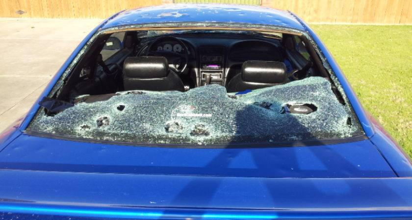 Hail Damage Does Mustang Stangtv
