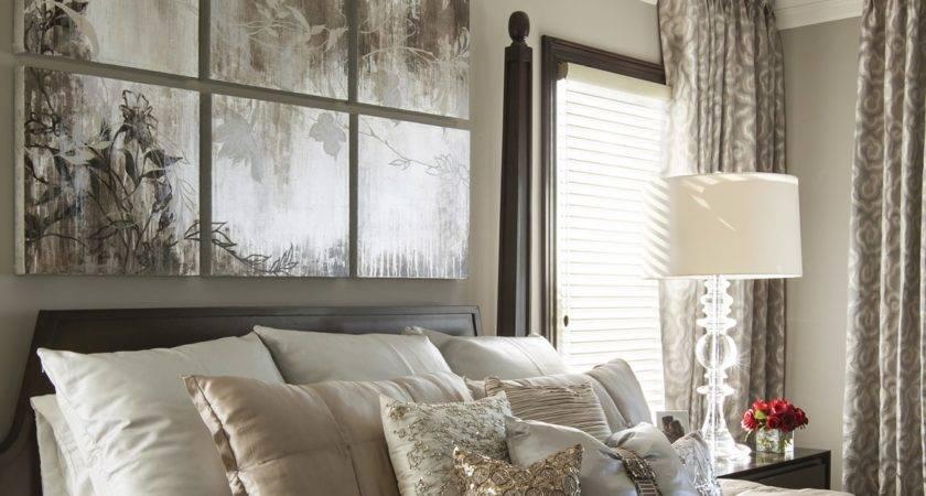 Hamptons Inspired Luxury Home Master Bedroom Robeson