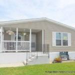 Harmony Homes Half Porch Model Reduced Michigan Mobile Home