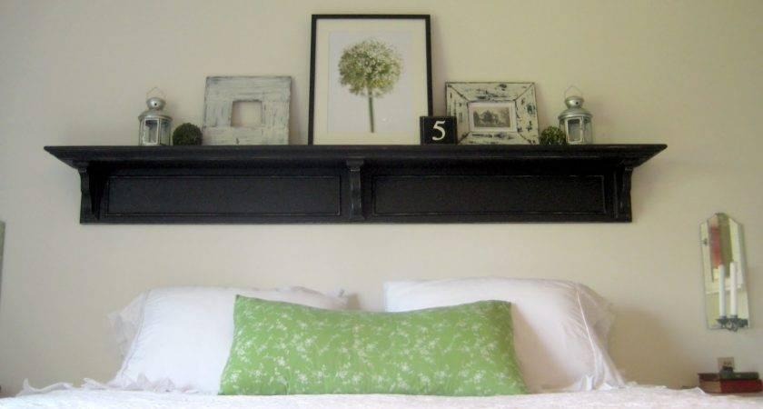 Headboard Shelf Reveal