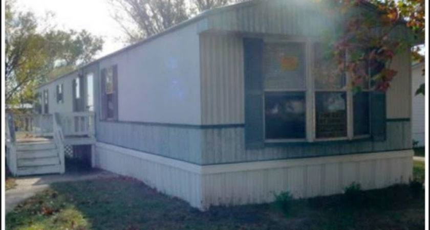 Heart Song Mobile Home Exterior Before After