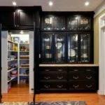 Hidden Pantry Behind Doors Look Like Cabinets