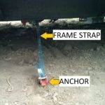 Hii Mobile Home Anchor Frame Strap Tie Down