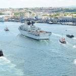 Hms Bulwark Home Mediterranean Search Rescue Mission Royal