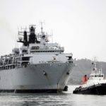 Hms Bulwark Returned Her Home Port Devonport Plymouth She