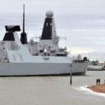 Hms Defender Returns Home Operations Gulf Royal Navy