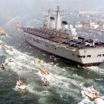 Hms Invincible Returning Home Wikimedia Commons