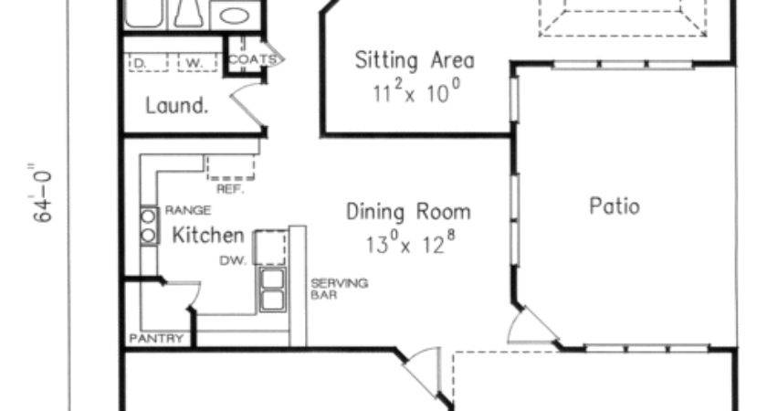 Hogan House Floor Plan Frank Betz Associates