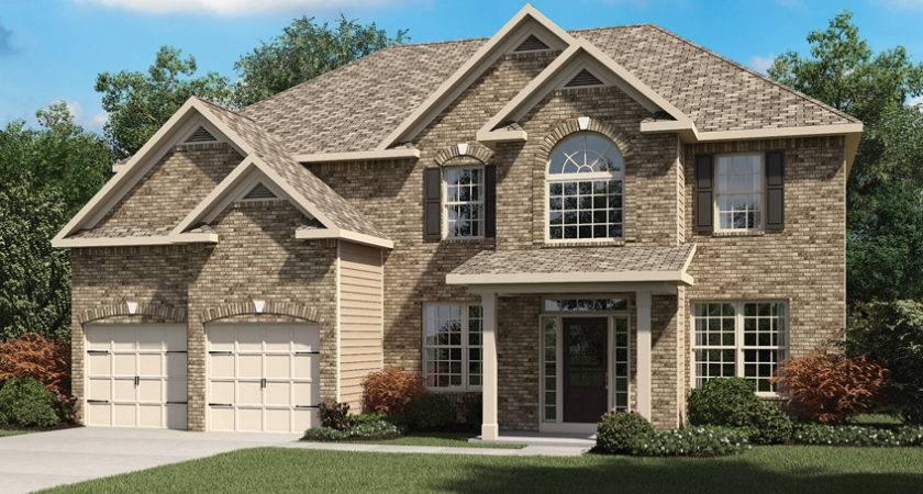 Home Builder Loganville Harmony Club Plans Oakwood Iii