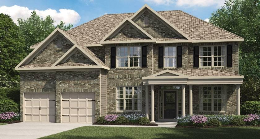 Home Builder Snellville Trillium Forest Plans Oakwood