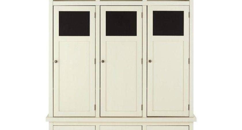 Home Decorators Collection Shelton Wood Storage Locker