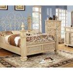 Home Lexington Antique White Bed Collection