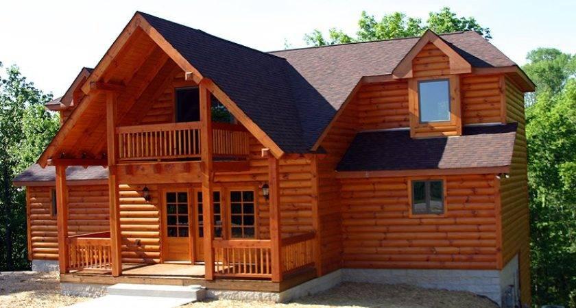 Home Looked Like Log But Wasn Had Siding
