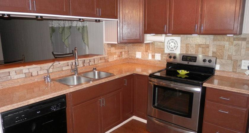 Home Mobile Kitchen Remodel Before