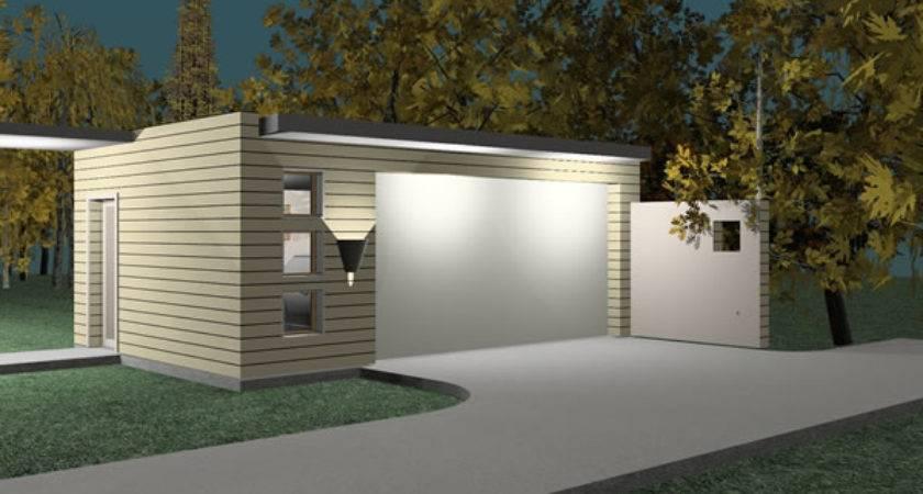 Home Plans Prefab Garage