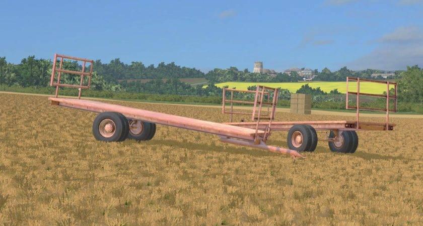 Homemade Bale Trailer Mod Farming Simulator