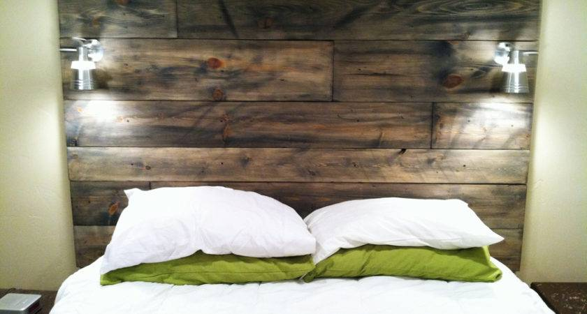 Homemade Wood Headboard Plan Ideas Diy Headboards Designs