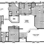 Homes Dream Home Blueprints Floor Plans Mobile House Layout