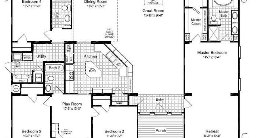 Homes Pinterest Mobile Home Floor Plans