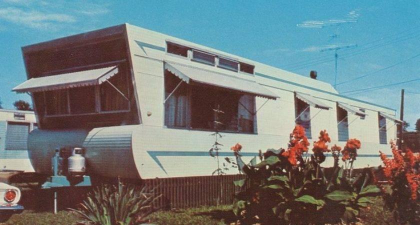 Homes Trailers Mobile Manufactured Vintage Trailer