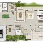 Homestead Design Real Estate Investment House Floor Plan Sale