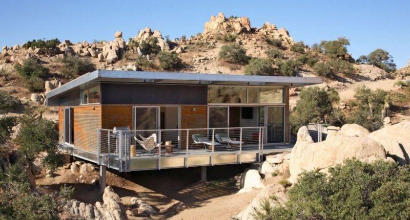 House Desert California Modern Prefab Modular Homes Prefabium