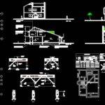 House Design Autocad Drawing Bibliocad