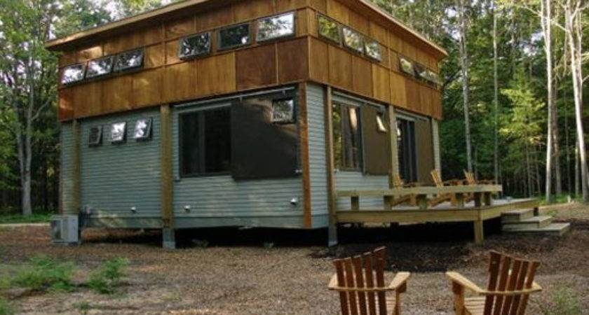 House Michigan Green Home Prefab Cottage Day Bestofhouse
