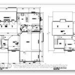 House Plan Autocad Architectural Design