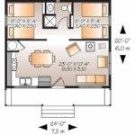 House Plan Two Bedroom Country Square Feet Bedrooms