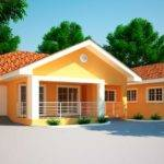 House Plans Ghana Jonat Bedroom Plan