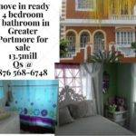 House Sale Bedroom Bathroom Greater Portmore