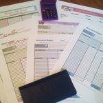 Household Printable Budget Worksheets