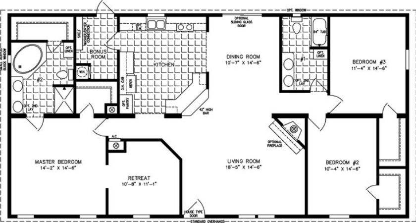 Houses Floor Plans Square Foot