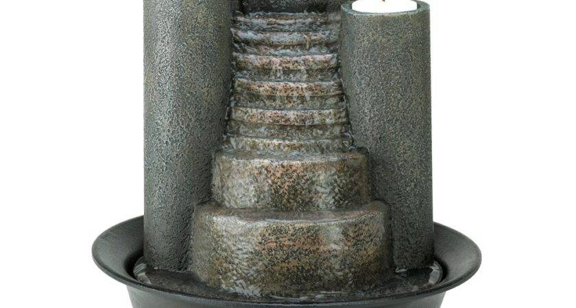 Houses Water Fountain Modern Diy Art Design Collection