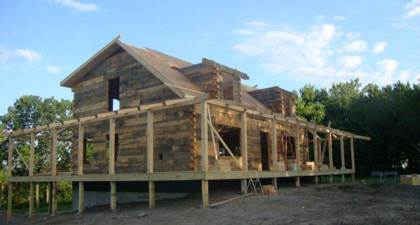 Huge Log Houses Patriot Home Builders