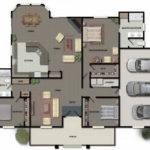 Ideas Modular Home Floor Plans Garage
