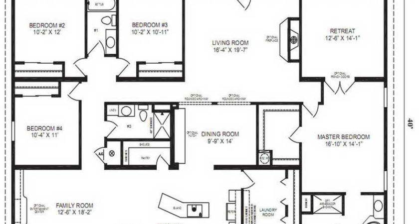 Ideas Modular Home Floor Plans Master